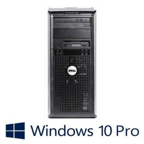 PC Refurbished Dell Optiplex 360 MT, Core 2 Quad Q9300, Win 10 Pro